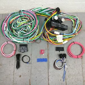 1954 1966 Buick Olds Compact Wiring Harness Upgrade Kit 15 Fuse 24 Circuit Ohv