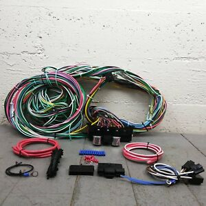 1939 1956 Mercury Wire Harness Upgrade Kit Fits Painless Compact Fuse New Kic