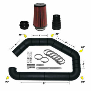 Airaid 101 401 U build it Master Kit I Air Intake System 4 Inch Tube
