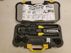 Apollo Multi head Pex Crimp Tool Kit