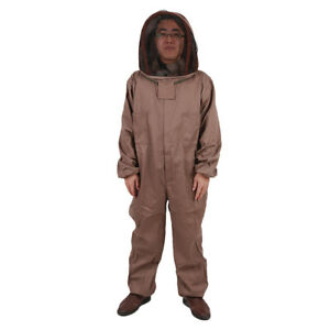 New Apiarist Beekeeping Suit Fencing Veil Protection For Beekeepers All in one L