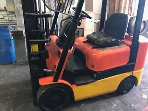 Mitsubishi Forklift 5 000 Lbs Capacity Lp Gas Used