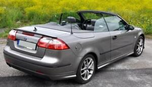 Saab 9 3 Rear Boot Trunk Spoiler Back Door Addon Cabrio Coupe Tailgate Lip Wing