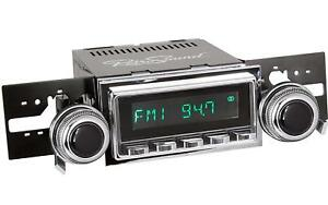 Retrosound M2bc 127 53 73 Model Two Direct fit Radio For Classic Vehicles Black