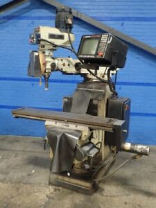 Acra Gs18f Vertical Mill 10 X 54 Table 08181900001