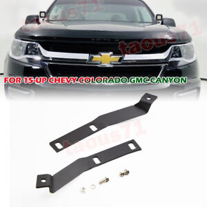 For 2015 2019 Chevy Colorado Gmc Canyon Hood Ditch Side Light Bar Mount Brackets