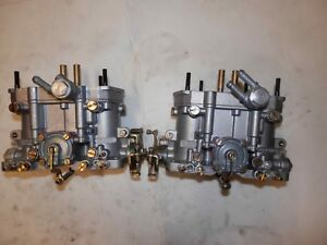 Vw Bus 1641 Dellorto Drla 36 Carburetors