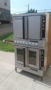 Blodgett Double Stack Gas Convection Oven Dfg 100 200 Pizza Kitchen