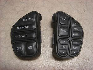 98 02 Ford Explorer Lincoln Cruise Control Switch Climate Radio Switches Mercury