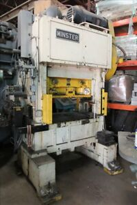 Minster P2 45 High Speed Straight Side Double Crank Press B38464