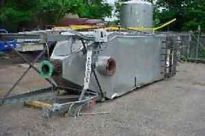 36 Bag Mikro Pulsaire Pulse Jet Dust Collector Bag House 20 Hp Blower