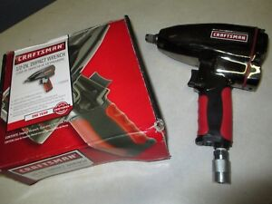 Craftsman 1 2 Drive Pneumatic Impact Wrench 19983 With Nipple In Box