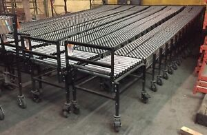 Flexible Gravity Accordion Style Conveyor
