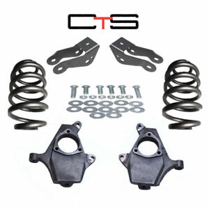 2007 14 Chevy Tahoe Gmc Yukon 2 4 Lowering Suspension Drop Kit Spindle Coil