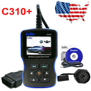 Creator C310 Code Reader Scanner Graphing Enginer Oil Service Reset For Bmw Usa