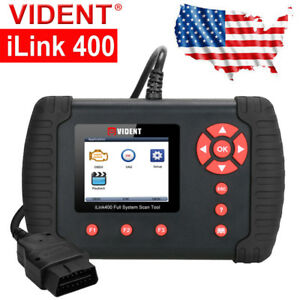 Vident Ilink400 Obd2 Eobd Engine Oe level Abs Code Reader Diagnostic Tool Usa