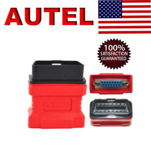 Autel 16pin Obd2 Eobd Adapter Connector For Maxidas Ds708 Diagnostic Tool Us
