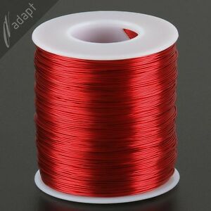 Magnet Wire Enameled Copper 1 Ea Red And Grn 24 Awg Hpn 155c 1 Lb 800ft
