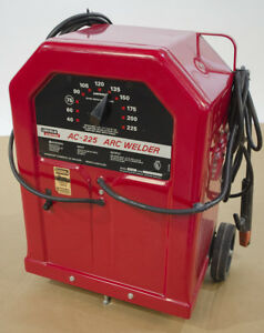 Lincoln Electric Ac 225 Arc Welder Great Shape Used Free Shipping In Conus