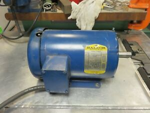 Drill Press Motor Powermatic 1200 Clausing 20 Baldor 1 5 H p 3 Ph 1140 Rpm