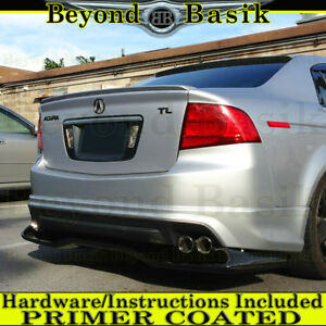 2004 2005 2006 2007 2008 Acura Tl Factory Style Lip Spoiler Wing Tail Primer