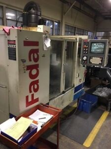 Used Fadal Vmc 3016 L Cnc Vertical Machining Center Mill 32mp Rigid Tap Flpy 01