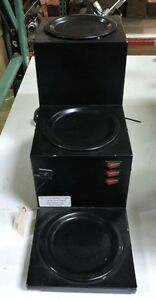 Grindmaster Bw 3tbl Commercial Countertop Three Tier Coffee Warmer Station