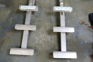 Green Bull Heavy Duty Three Rung Ladder Jacks One Pair