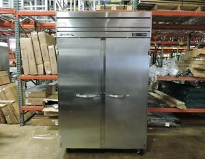 Beverage Air Pr48 1as Commercial Two Section Reach in Refrigerator