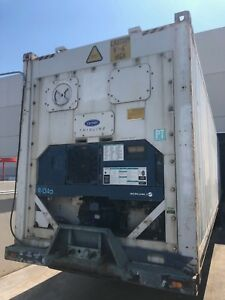 2002 Carrier Refrigerated Trailer Working Condition