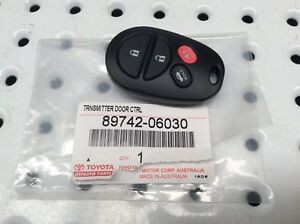Genuine For Toyota Remote Pad Central Locking Camry Acv40 Gsv40 Altise 2006 2011