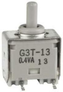 2x New Brand No 09x9801 Nkk Switches G3t13ap Switch Toggle Spdt 0 1a 28vac