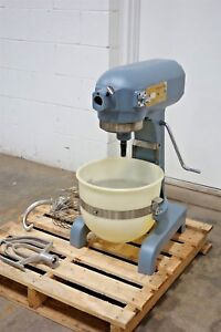Used Pan Western 20 Quart Mixer A 20 1 Excellent Hobart A200 Bowl Paddle Hook