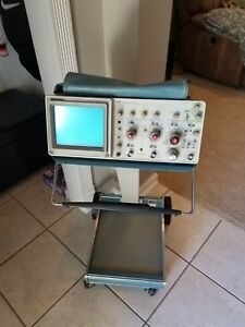 Tektronix 2215a 60 Mhz Analog Oscilloscope used With Scope Mobile