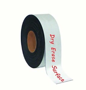 Mastervision Tape Roll Magnetic Dry Erase 2 X 50 White