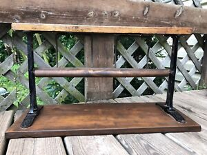Vintage Paper Cutter Roll Holder Dispenser Cast Iron Butcher Craft Wrapping