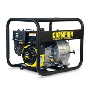 Water Transfer Pump Gas Powered Storm Flooding Utility Pump Pool Pond Dewatering