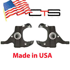 Chevy S10 Gmc S15 Sonoma 2 Front Drop Spindles Suspension Knuckle Spindle Kit