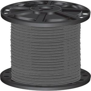 Gray 10 gauge 2 500 Ft Pre cut Length Stranded Cu Thhn Building Electrical Wire