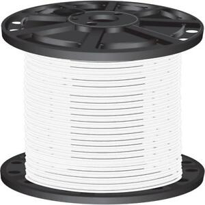 White Pre cut Length 2 500 ft 10 Gauge Stranded Cu Xhhw Building Electrical Wire