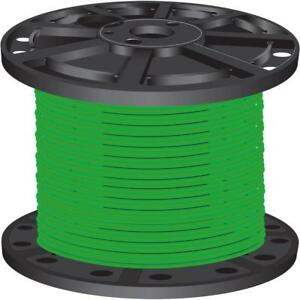 Green Pre cut Length 2 500 ft 10 Gauge Stranded Cu Xhhw Building Electrical Wire