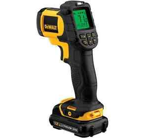 Dewalt Laser Temperature Meter Infrared Thermometer Lcd Indicator Dct414s1