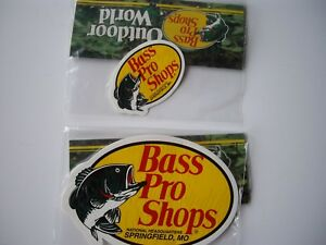 Bass Pro Shops Fishing Decal Sticker Car 3 And 5