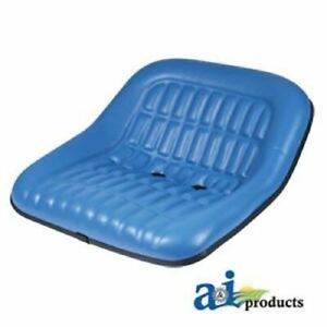 Cs668 8v Ford Replacement Seat Blue Many Models 19 Pan Steel 7 X 2 Back
