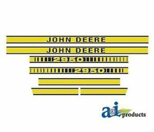 Jd410 John Deere Tractor Model 2950 Hood Decal
