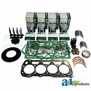 Ok404c Case Ih Ford Major Engine Overhaul Kit Compact Tractors Skid Steer Loader