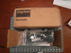 Dayton 4z529 Permanent Magnet Dc Motor New Old Stock In Box