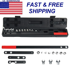 16pcs Ratcheting Wrench Serpentine Belt Tool Kit Socket Repair Set