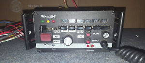 Whelen 295hfsa6 200 Watt Electronic Siren Amplifier Control Center