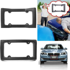 Car Truck Front Bumper Guard Eva License Plate Frame Automobile Protector New
